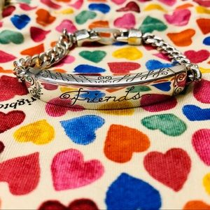 "Brighton Silver ""Friends"" Bracelet"